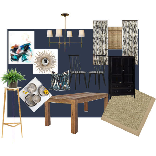navy-and-black-dining-room
